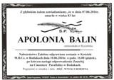 Balin Apolonia