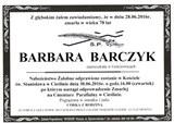 Barczyk Barbara