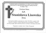 Lisowska Stanisława