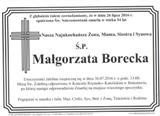 Borecka Małgorzata