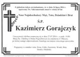 Gorajczyk Kazimierz