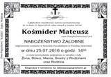 Kośmider Mateusz