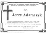 Adamczyk Jerzy