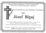 Bigaj Józef