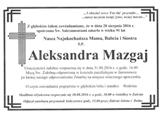 Mazgaj Aleksandra