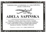 Sapińska Adela