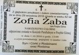 Żaba Zofia