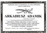Adamik Arkadiusz