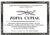 Cupiał Zofia