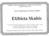 Skubis Elżbieta