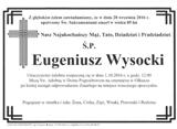 Wysocki Eugeniusz