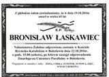 Łaskawiec Bronisław