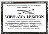 Lekston Wiesława
