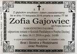 Gajowiec Zofia