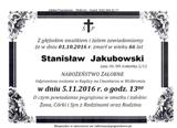 Jakubowski Stanisław