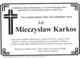 Karkos Mieczysław