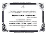 Sośnicka Stanisława