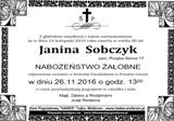 Sobczyk Janina