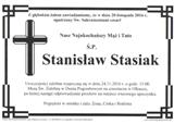 Stasiak Stanisław