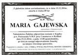 Gajewska Maria
