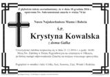 Kowalska Krystyna