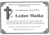 Mańka Lesław