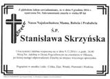 Skrzyńska Stanisława