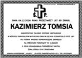 Tomsia Kazimierz
