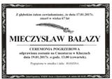 Bałazy Mieczysław