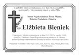 Bieniek Elżbieta