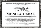 Cabaj Monika