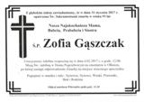 Gąszczak Zofia
