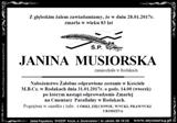 Musiorska Janina