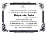 Pałka Małgorzata