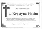 Piocha Krystyna