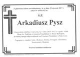 Pysz Arkadiusz