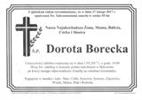 Borecka Dorota