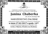 Chaberka Janina