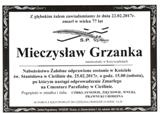 Grzanka Mieczysław
