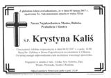 Kaliś Krystyna