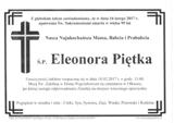 Piętka Eleonora