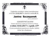 Szczepanek Janina
