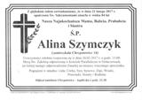 Szymczyk Alina