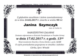 Szymczyk Janina