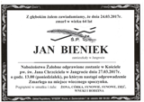 Bieniek Jan