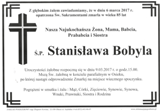 Bobyla Stanisława