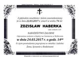 Haberka Zdzisław
