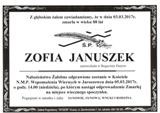 Januszek Zofia