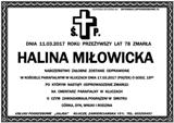 Miłowicka Halina