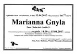 Gnyla Marianna